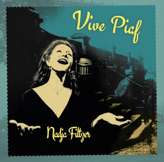 CD cover-Vive Piaf